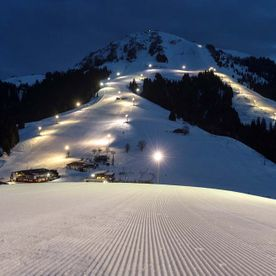 Night skiing in the Skiwelt Söll
