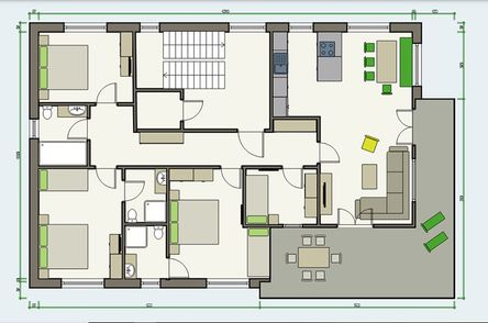APART deluxe Penthouse Plan